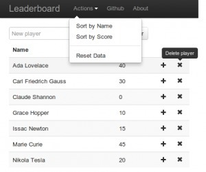 Meteor Leaderboard with CoffeeScript, Less and Bootstrap | Meteor | Scoop.it