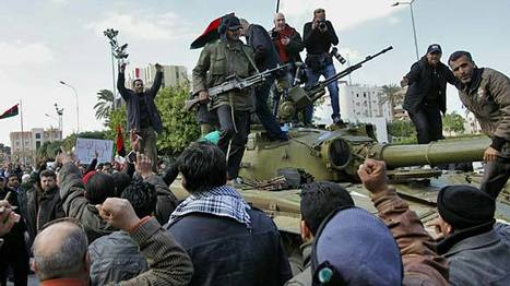 Libya bombards rebels, gets closer to stronghold - | Coveting Freedom | Scoop.it