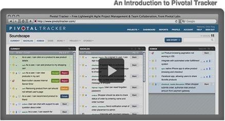 Pivotal Tracker - Features Tour   UX Story Management Tools   Scoop.it
