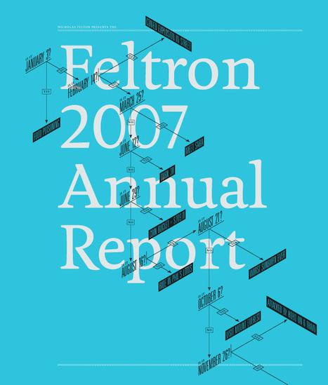 Nicholas Felton | Feltron.com | JWK Geography | Scoop.it