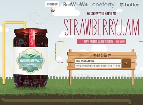 26 Inspirational Colourful Websites | CRAW | Scoop.it