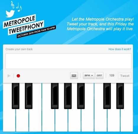 Orquesta crea herramienta para componer y compartir sinfonías en Twitter   Juegos Tic para Música Primaria   Scoop.it