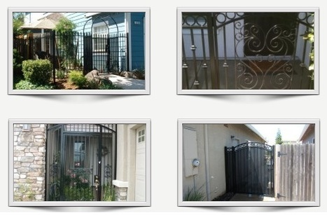 Decorative Iron Gates, Iron Enclosures, Iron Fencing & More | Ornamental Iron | Wrought iron fencing | Driveway gate | Scoop.it
