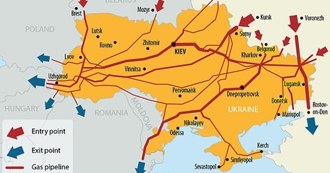 To Understand What's Really Happening in Ukraine, Follow the Gas Lines on This Map | Global resource plunder and poisoning of natural resources | Scoop.it