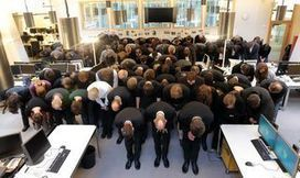 La redacción de Financial Times Alemania cierra y pide perdón con una foto sorprendente | La R-Evolución de ARMAK | Scoop.it
