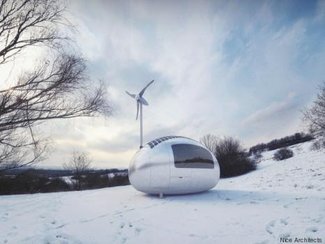 La maison auto-suffisante qui pourrait révolutionner vos voyages | Maison ossature bois écologique | Scoop.it