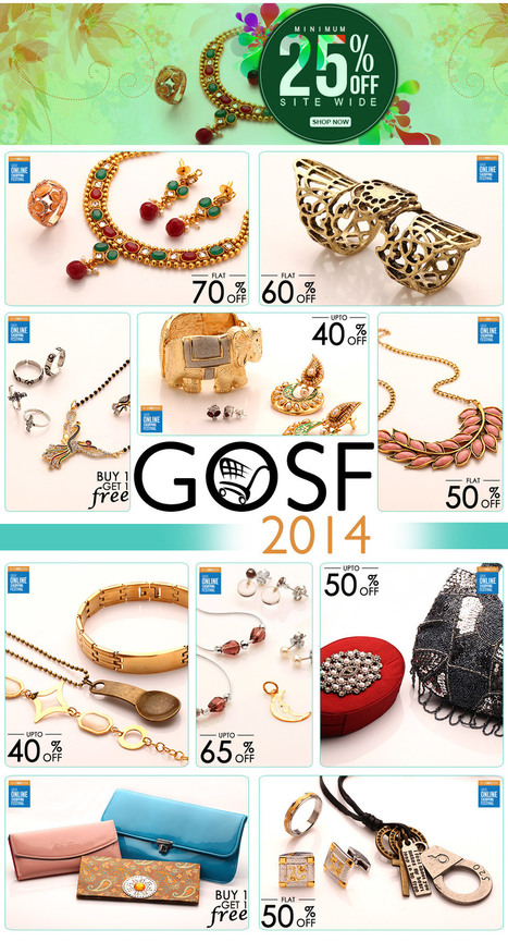 Great Online Shopping Festival 2014 in India | Voylla.com | Online Fashion Jewellery | Scoop.it