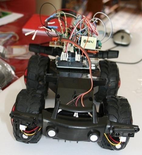 Arduino Car: Des yeux pour Arduino Car | TPE 1S1 2013-2014 | Scoop.it
