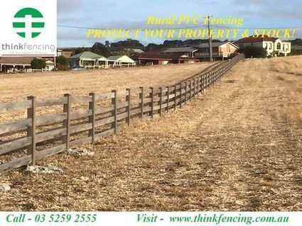 Largest PVC Horse Fencing Supplier & Manufacturer in Australia   Think Fencing   Scoop.it
