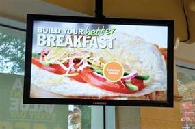 Digital signage entices your taste buds | The Meeddya Group | Scoop.it