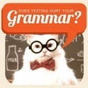 Does Texting Hurt Your Grammar? - Infographic | Informational reading | Scoop.it