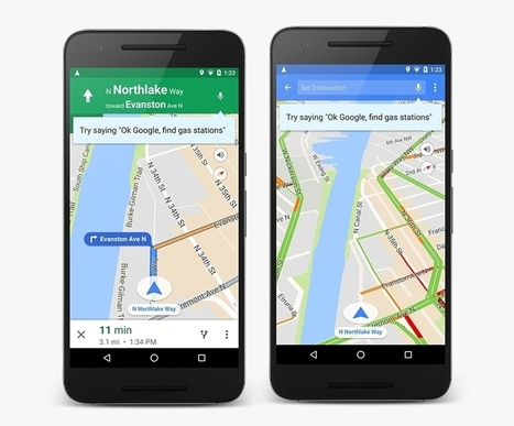 Google Maps localise désormais les rendez-vous de Google Agenda | Geeks | Scoop.it