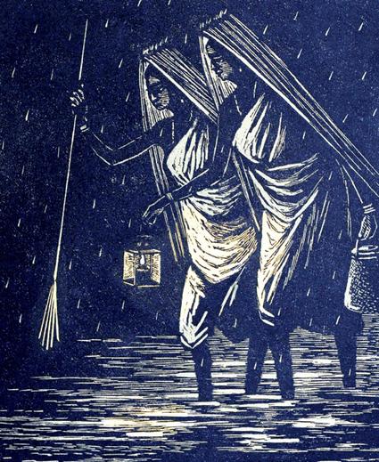 Exposition : Between the lines, nombreuses estampes d'artistes indiens | Découvertes artistiques à Mumbai | Scoop.it
