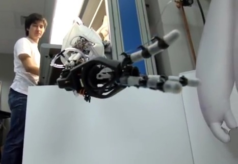 Robots with 'eyes' in their hands may prove more dextrous   Gizmag   Cultibotics   Scoop.it
