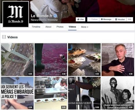 Faut-il choisir Facebook ou Youtube pour la publication de vos vidéos?   Social Media Curation par Mon Habitat Web   Scoop.it