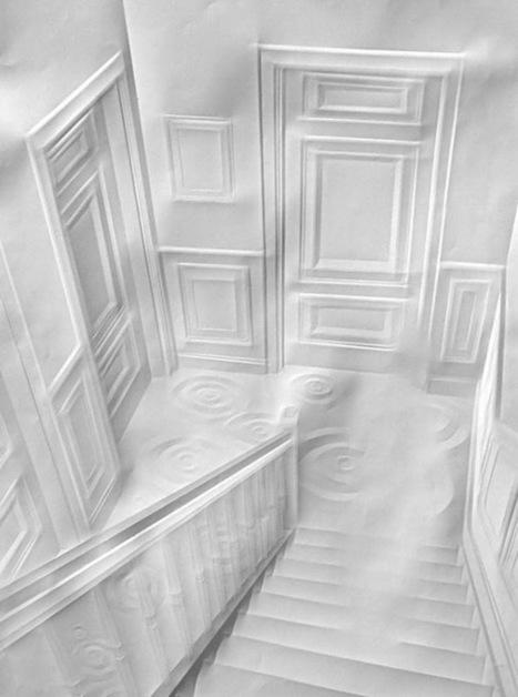 19 exemples de paper art | Archivance - Miscellanées | Scoop.it