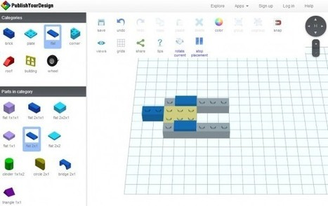 Publishyourdesign – Para construir con LEGO directamente en la web | Teachelearner | Scoop.it
