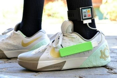 Mon téléphone mobile rechargé comme un pied | Renewables Energy | Scoop.it