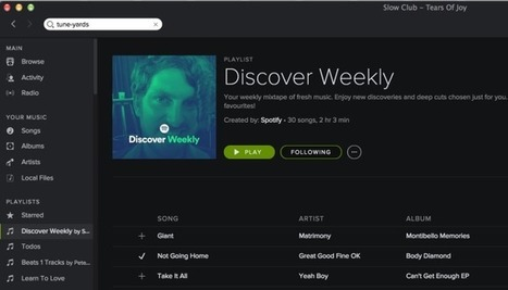 "Spotify's Latest Trick Is A Personalized News Feed-Style ""Discover Weekly"" Playlist 