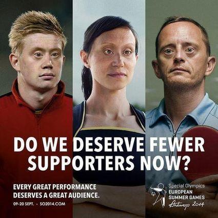 Sport et Handicap mental : campagne choc contre la discrimination | DiversitéS | Scoop.it