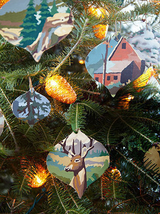 21 Easy, Homemade Christmas Ornaments | Christmas Decorations | Scoop.it