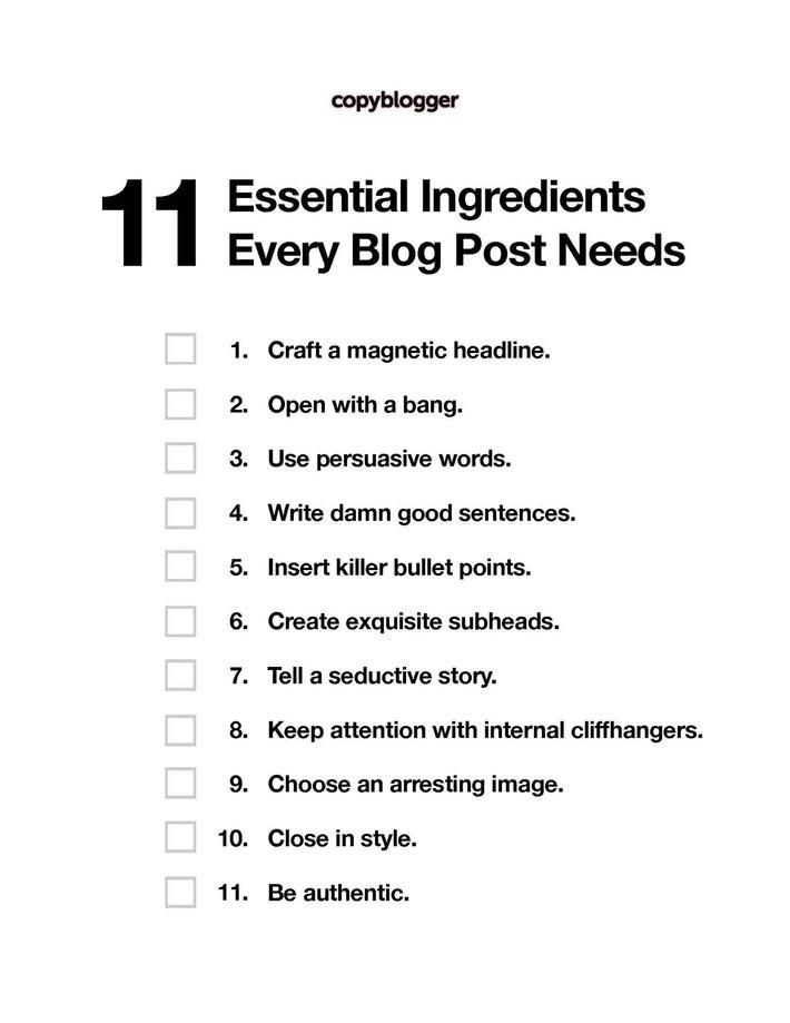 Recette : les ingrédients d'un bon billet de blogue   Médias sociaux : Conseils, Astuces et stratégies   Scoop.it