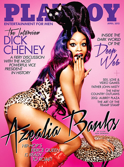 """Azealia Banks Hates on """"Fat White Americans,"""" Lorde, and Kanye West in Controversial Playboy Interview 