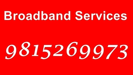 All tariffs of internet service providers | airtel Broadband services in chandigarh | Scoop.it