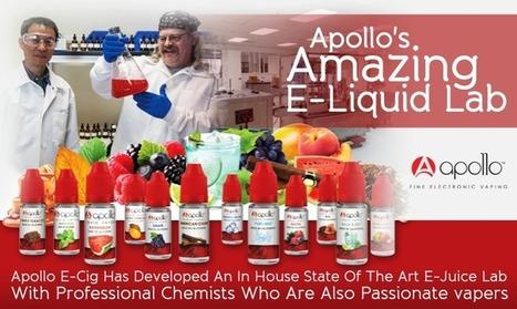 Apollo E-Cig E-Juice Lab   Gourmet E-Liquid Recipes   The ECCR Blog   Scoop.it