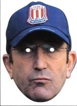 Stoke City FC Tony Pulis Celebrity Face Mask   STOKE CITY FANS   Scoop.it