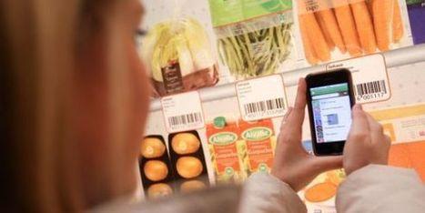 Quand les supermarchés se dématérialisent | Smartphone usage STATS | Scoop.it