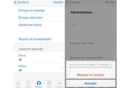iPhone: Bloquer un contact téléphonique | Gagner une heure par jour | Scoop.it