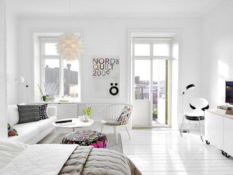 39m² tout en blanc | | PLANETE DECO a homes worldPLANETE DECO a homes world | IMMOBILIER 2014 | Scoop.it