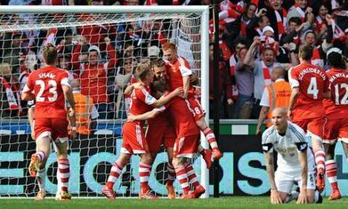 Southampton achieve record points thanks to winning finish at Swansea - The Guardian   SouthamptonFC   Scoop.it