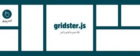 """Rendez votre interface entièrement """"Drag&Droppable"""" avec Gridster.js   JFPalmier   WebDevelopment   Scoop.it"""