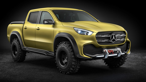 Official Photos of Mercedes-Benz X-Class Pickup Concept | Maxabout Cars | Scoop.it