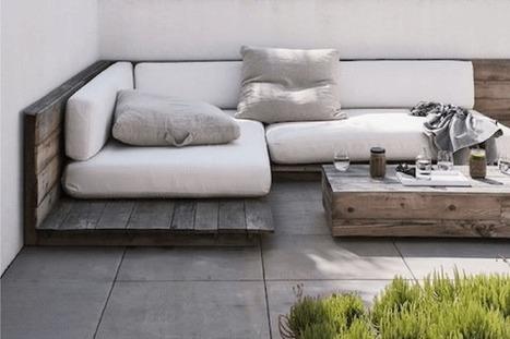 3 idées déco pour une belle terrasse végétalisée | décoration & déco | Scoop.it