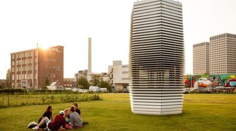 World's first smog filtering Tower goes on Tour | Hawaii Science and Technology Digest | Scoop.it