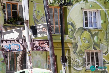 Santiago de Chile street art • Take Us Anywhere | World of Street & Outdoor Arts | Scoop.it