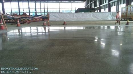 Dịch vụ mài sàn đánh bóng nền bê tông nhà xưởng giá rẻ uy tín tại tphcm - Phạm Gia Phát chuyên thi công sơn epoxy - sơn nền giá rẻ | tin tức tổng hợp 24h | Scoop.it