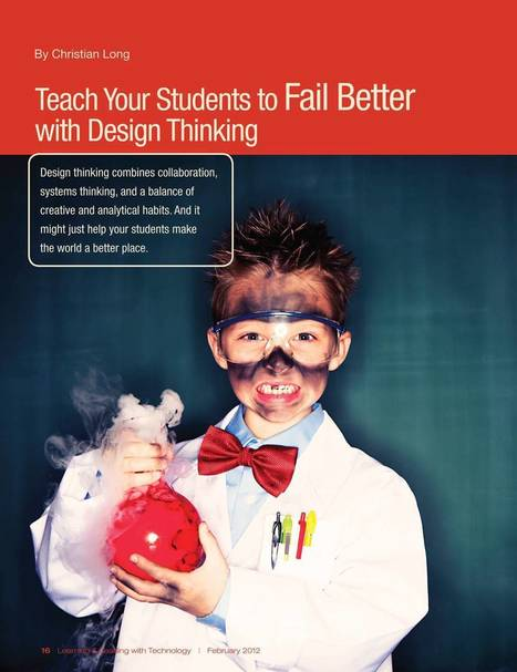 Teach Your Students to Fail Better | Innovative Ideas in Education | Scoop.it