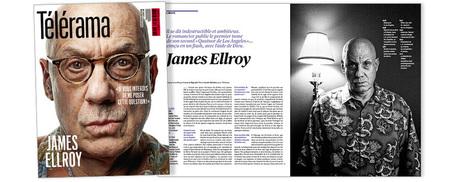 """James Ellroy : """"Je vis toujours sous l'emprise de mon imagination""""   La tentation de la fuite   Scoop.it"""