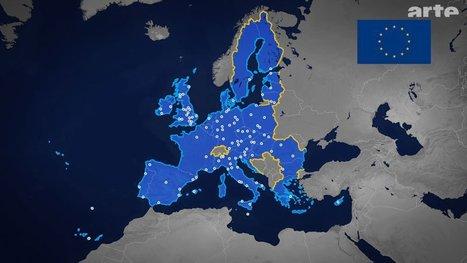 UE, MIGRANTS, FRONTIÈRES - ARTE - Le dessous des cartes- à (re)voir pour comprendre | L'Europe, continent d'immigration ? | Scoop.it
