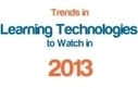 Trends in Learning Technologies to Watch in 2013 | E-Capability | Scoop.it