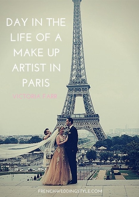 A Day in the life of a Make Up Artist in Paris | Bridal Hair and Beauty | Scoop.it