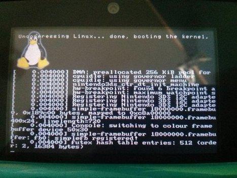 Un portage de Linux sur Nintendo 3DS est en cours - News et actualités postées sur LS   [OH]-NEWS   Scoop.it