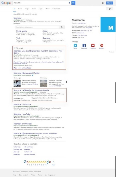 How to completely dominate Googles first page | B2B Marketing Online | Scoop.it