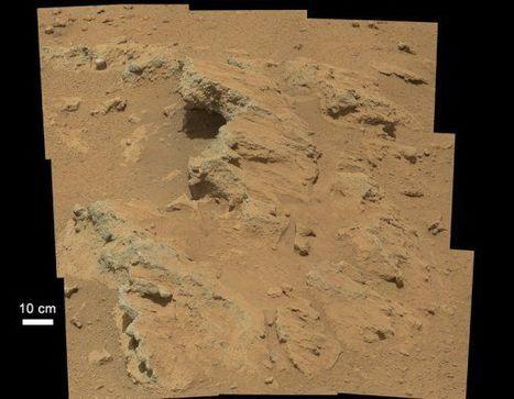 Curiosity découvre la trace d'un ancien ruisseau sur Mars | bretagnequimperle | Scoop.it