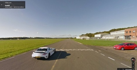 Top Gear's Test Track Now on Street View | Data in Social Media | Scoop.it