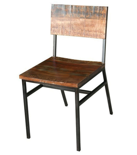 Mexicali Iron And Wood Dining Chair | Mexicali Iron And Wood Dining Chair | Scoop.it